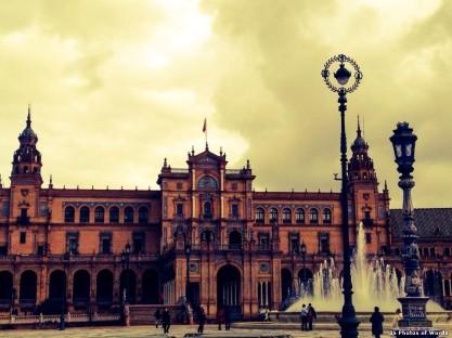 Plaza de España - Siviglia, Spagna